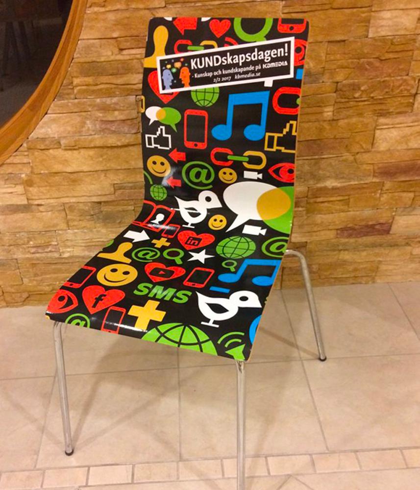 Folierad stol